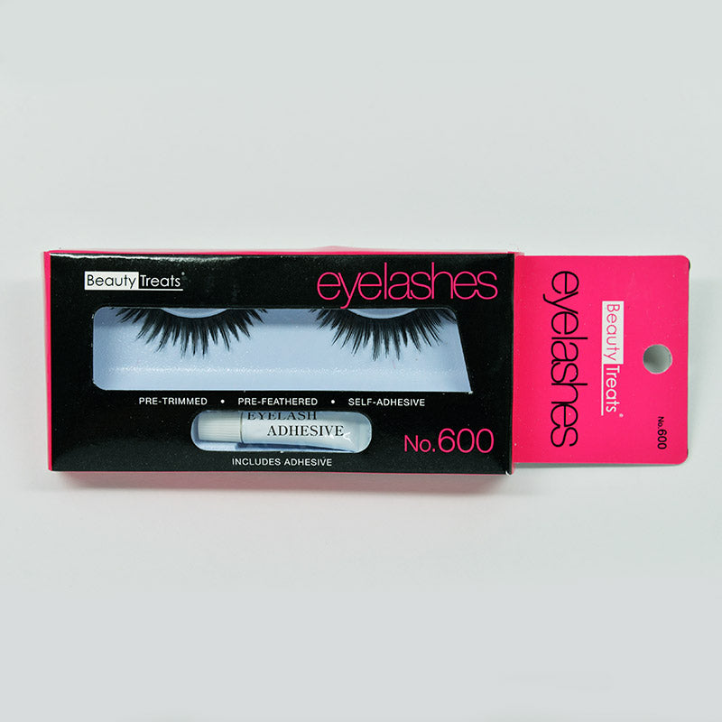 Beauty Treats Eyelashes - No. 600 Black