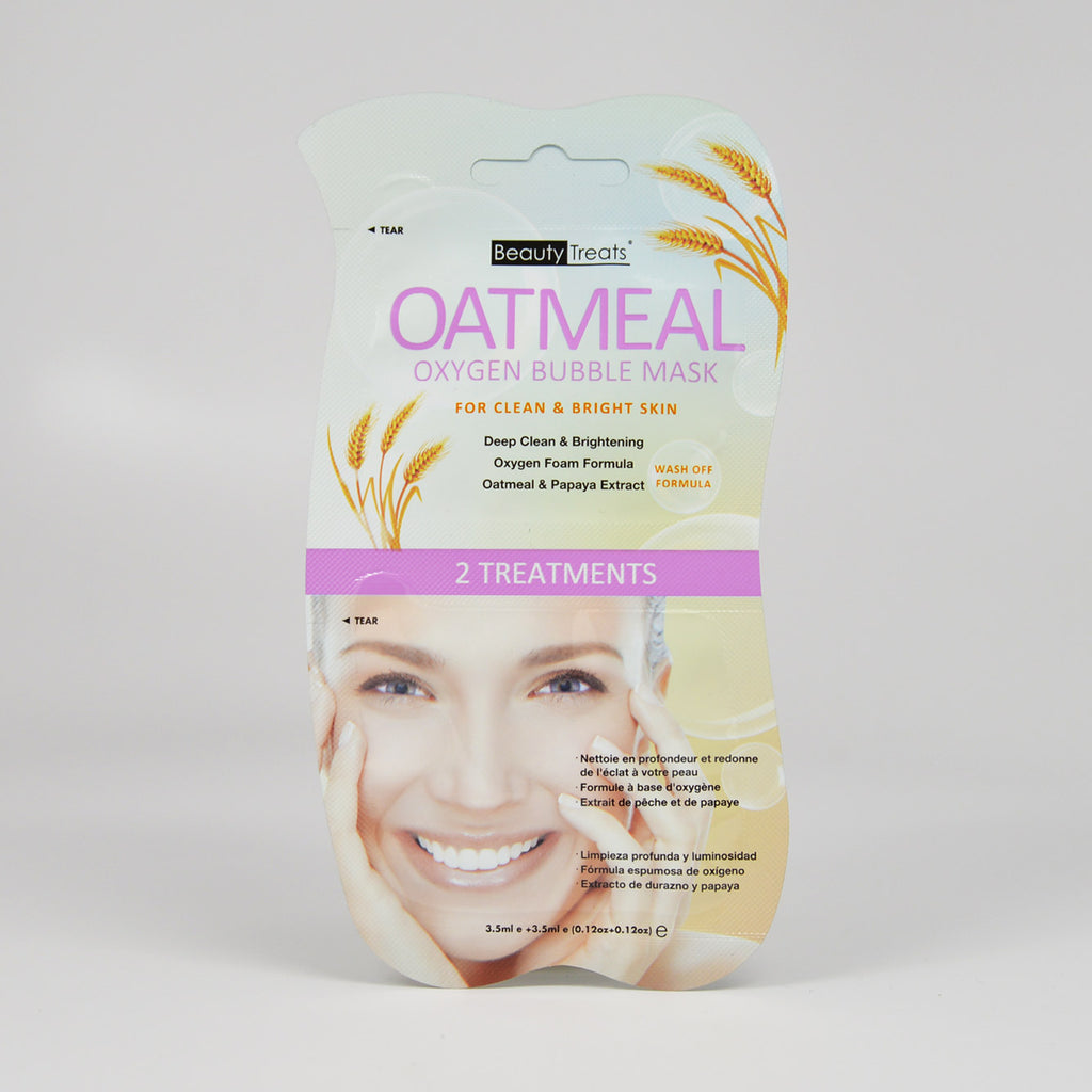 Beauty Treats Oatmeal Oxygen Bubble Mask