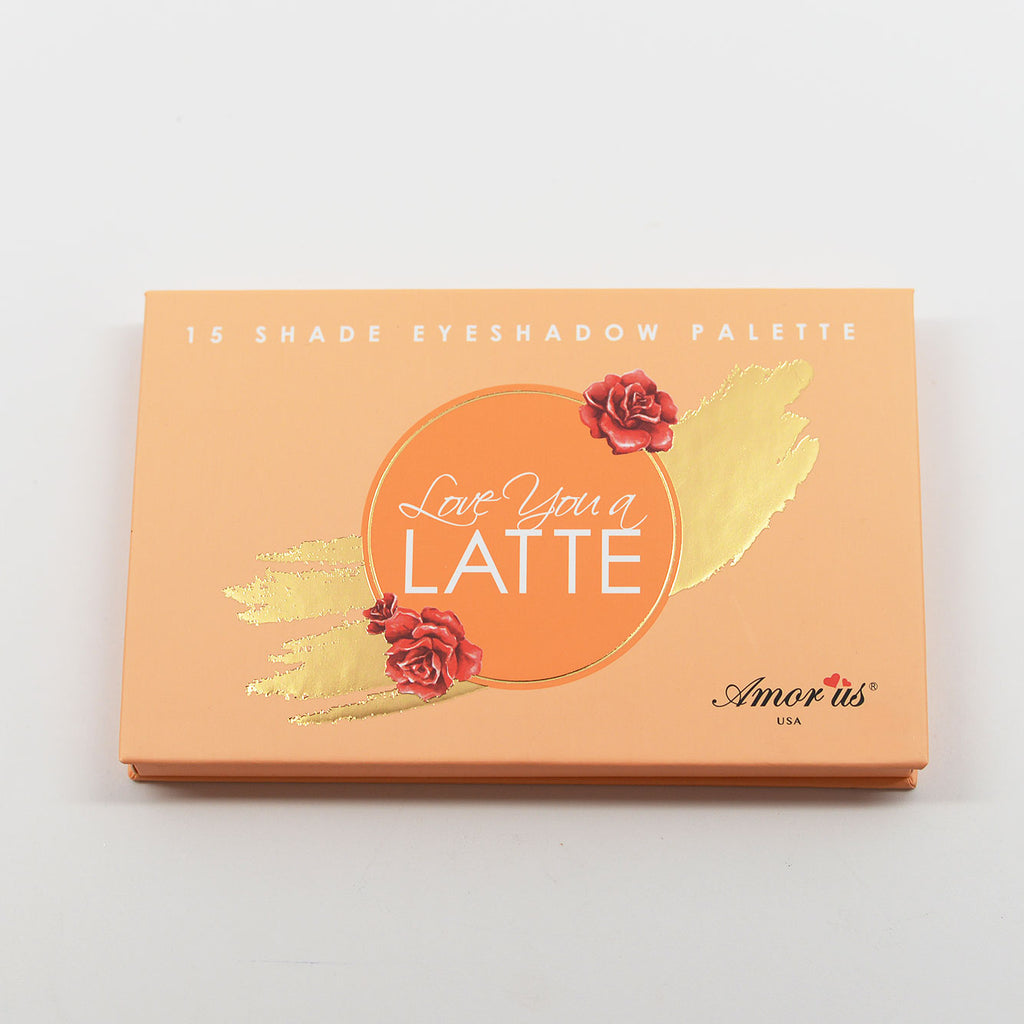 Amor Us Love You A Latte 15-color Eyeshadow Palette