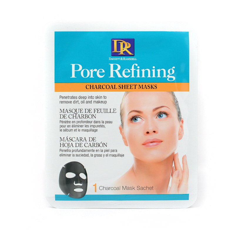 DR Pore Refining Charcoal Sheet Mask