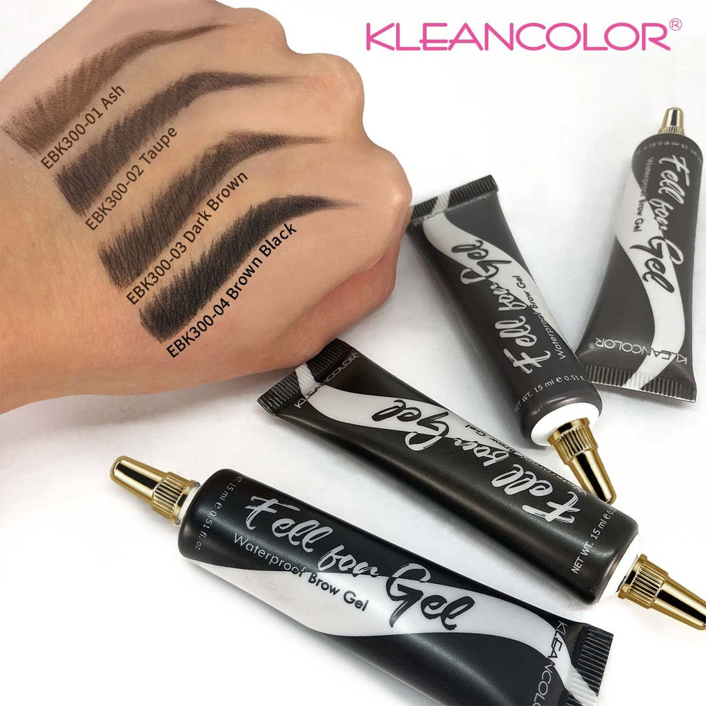 Kleancolor Fell For Gel Waterproof Brow Gel