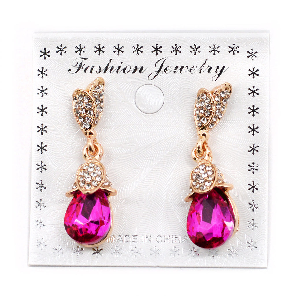 Faux Stone Earrings (2592)