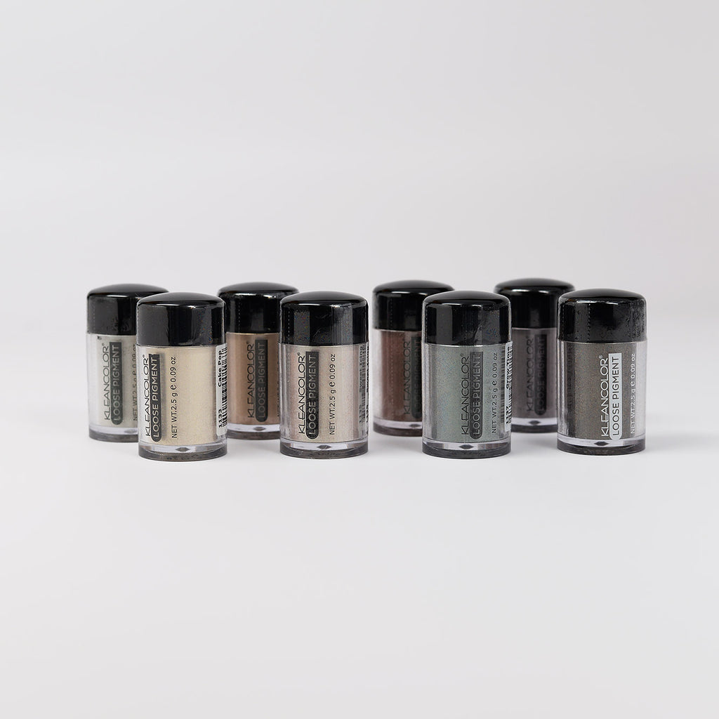 Kleancolor Loose Pigment for Eyes and Face (1132-1139)