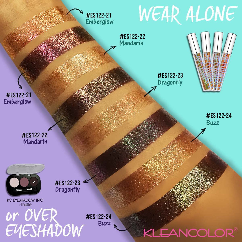 Kleancolor Megawatts Liquid Eyeshadow (Colors 17-24)