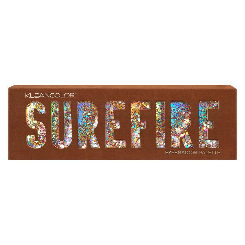Kleancolor Surefire Eyeshadow Palette - Toasty Brown (ES490)