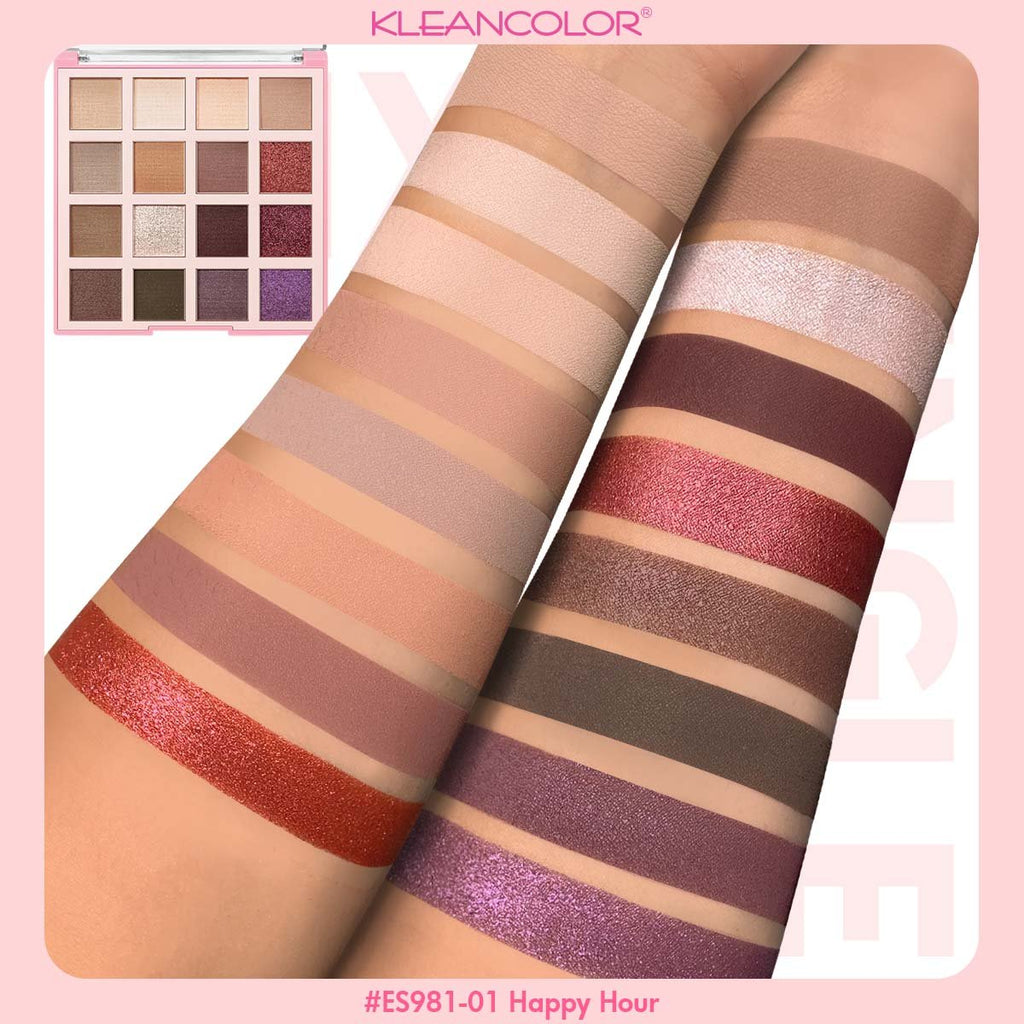Kleancolor Mix & Mingle Eyeshadow Palette - Happy Hour