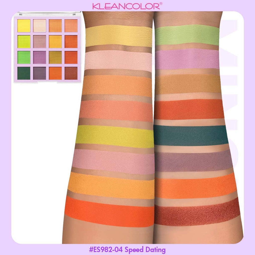 Kleancolor Mix & Mingle Eyeshadow Palette - Speed Dating