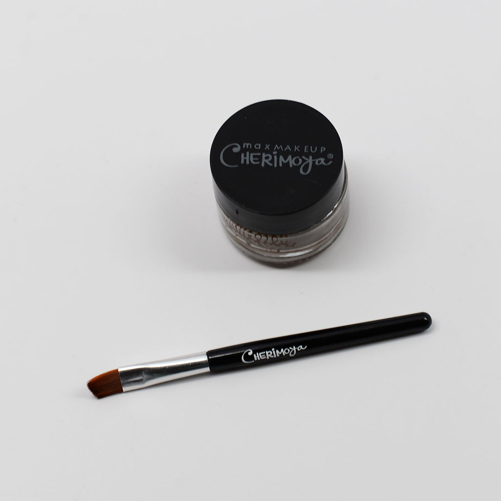Cherimoya Creamy Gel Eyeliner - Dark Brown