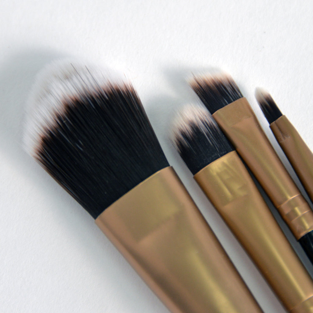 S.he 4-piece Makeup Brush Set