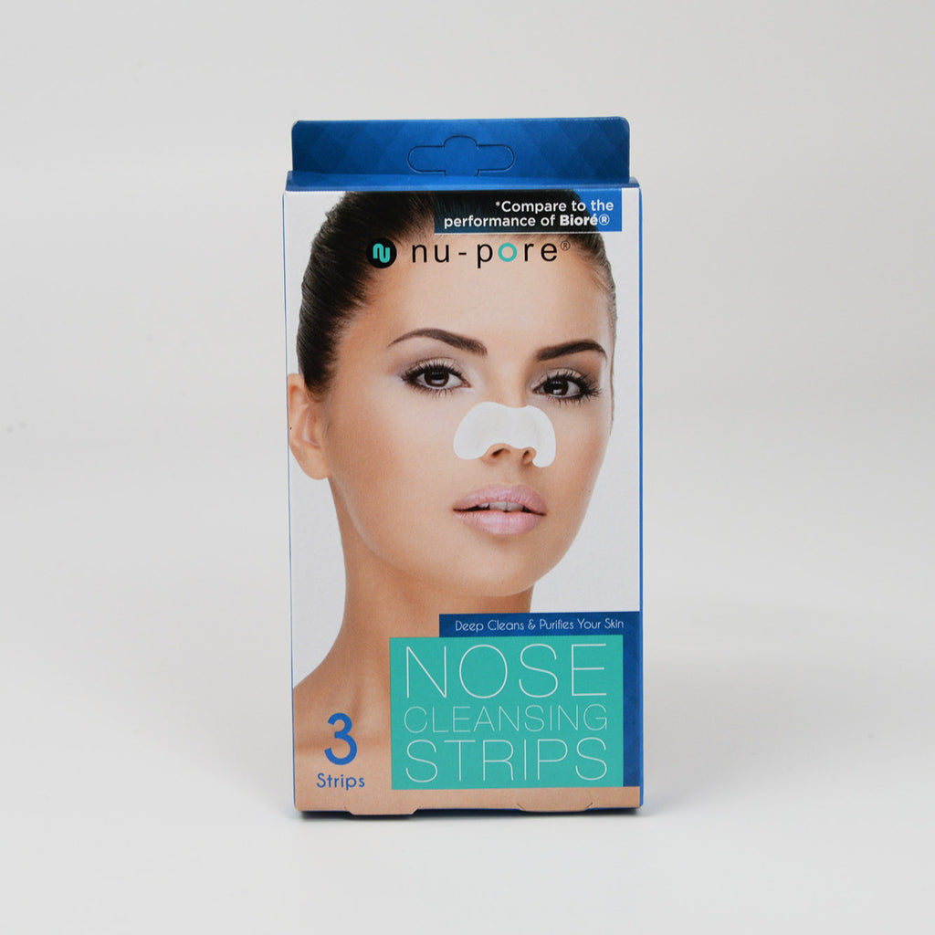 Nu-Pore Nose Cleansing Strips (3 strips)