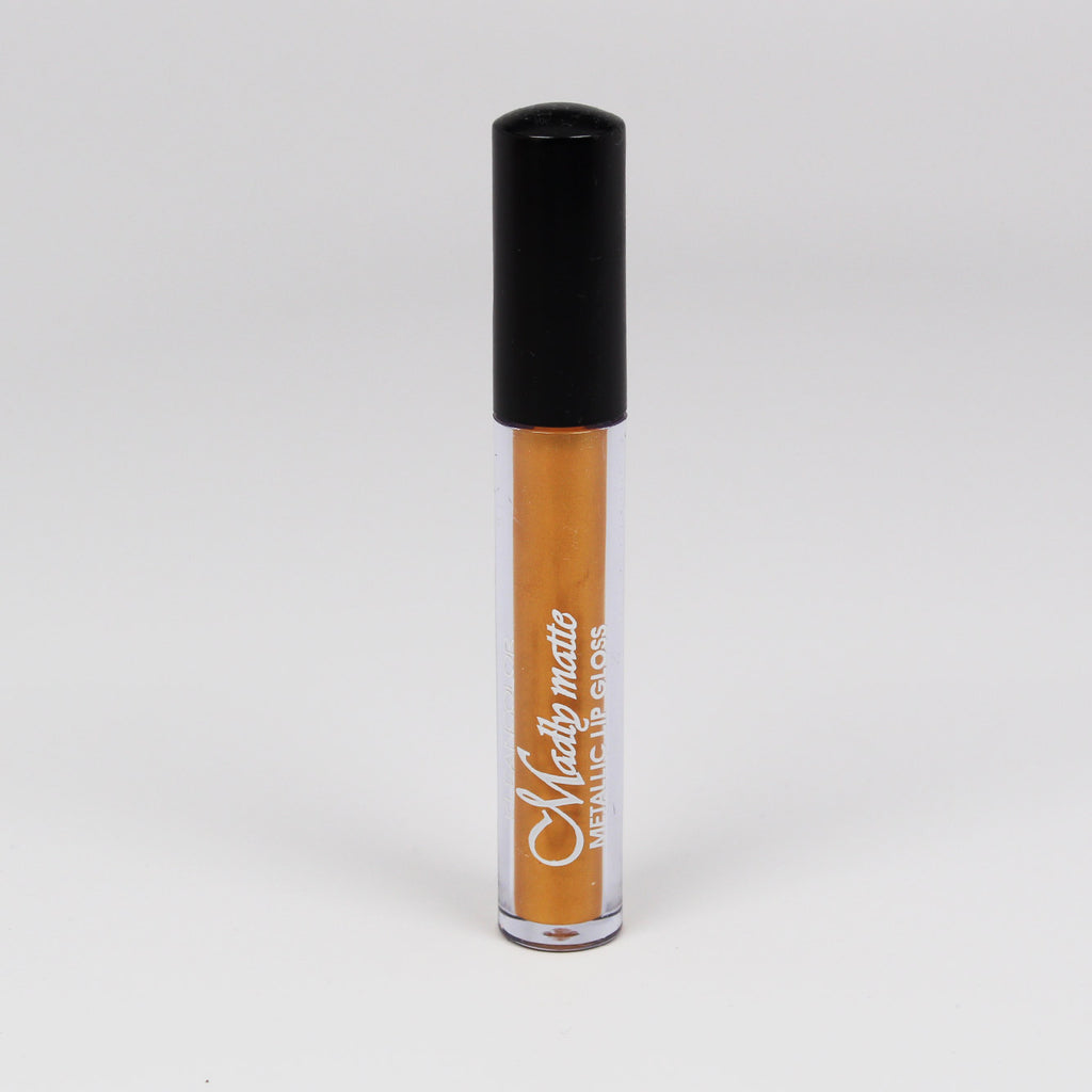 KleanColor Madly Matte Metallic Lip Gloss - #1648 Marigold