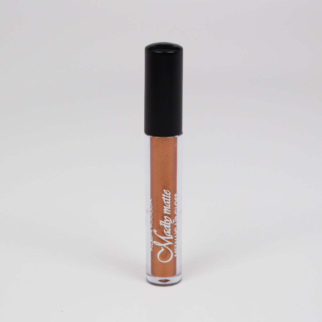 KleanColor Madly Matte Metallic Lip Gloss - #1649 Rich