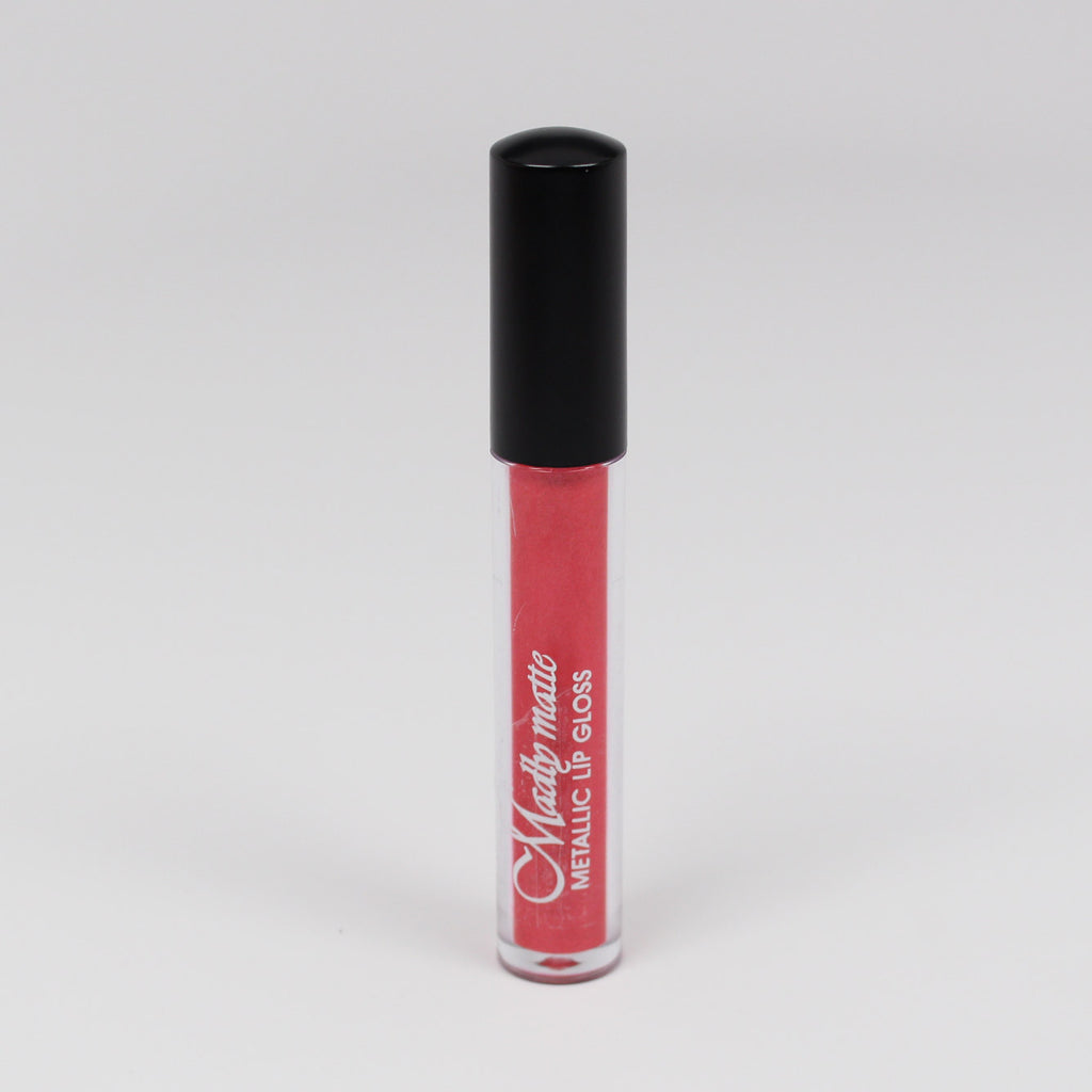 KleanColor Madly Matte Metallic Lip Gloss - #1650 Coral