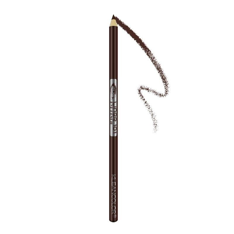 Kleancolor Long Pencil Eyeliner With Sharpener - Dark Brown