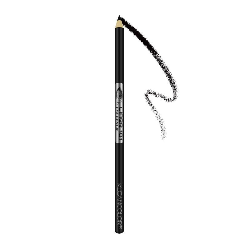 Kleancolor Long Pencil Eyeliner With Sharpener - Black