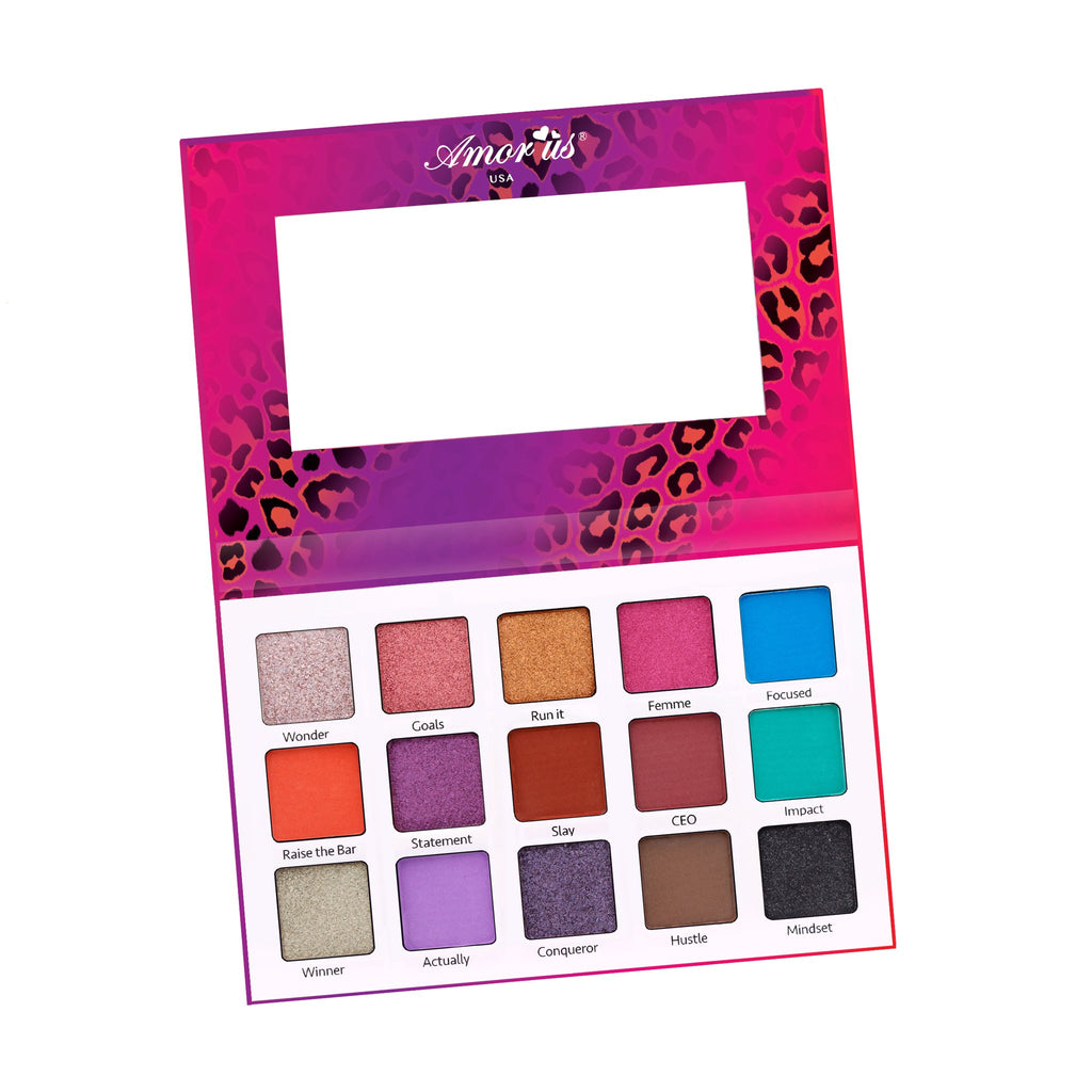 Amor Us Lady Boss 15-color Eyeshadow Palette