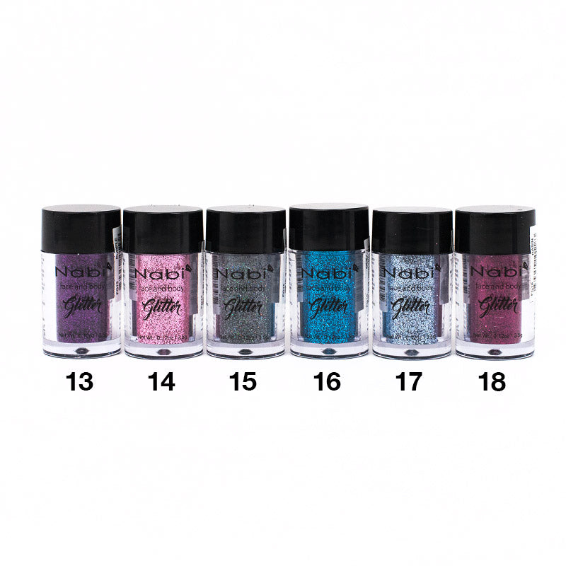 Nabi Face and Body Glitter (#13 - 24)