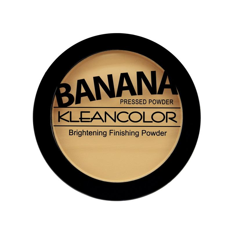 Kleancolor Banana Pressed Powder-Brightening Finishing Powder