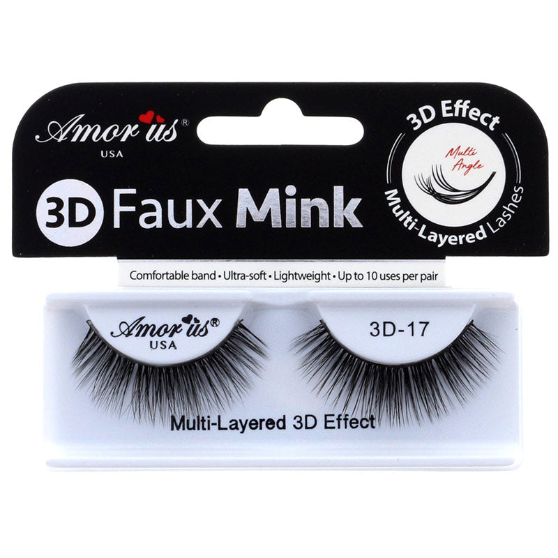 Amor Us 3D Faux Mink Lashes - #17