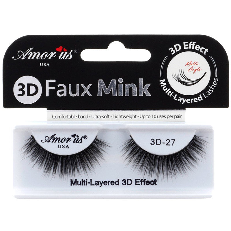 Amor Us 3D Faux Mink Lashes - #27