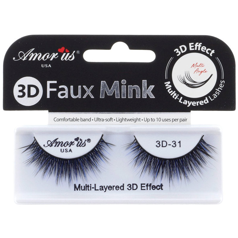 Amor Us 3D Faux Mink Lashes - #31