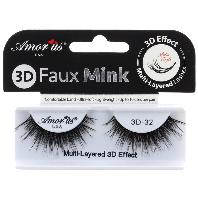 Amor Us 3D Faux Mink Lashes - #32