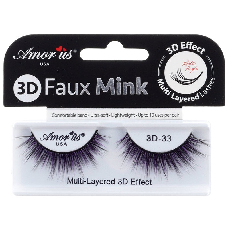 Amor Us 3D Faux Mink Lashes - #33