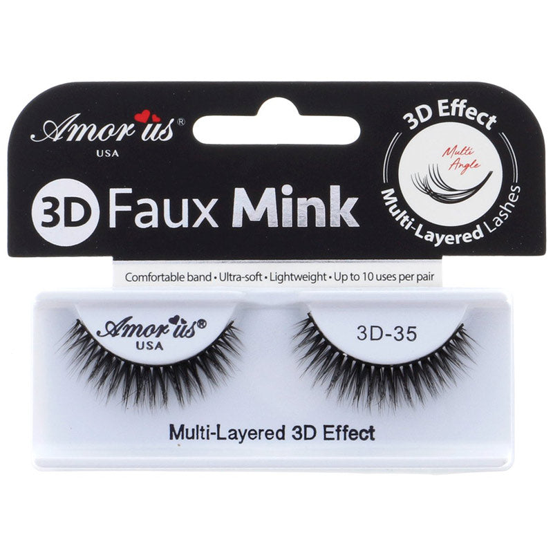 Amor Us 3D Faux Mink Lashes - #35