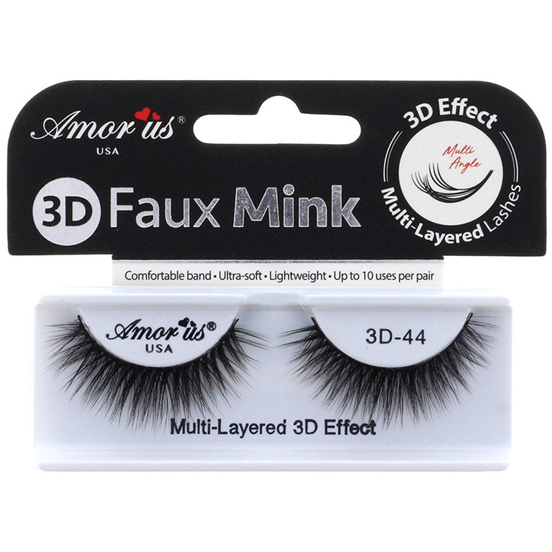Amor Us 3D Faux Mink Lashes - #44