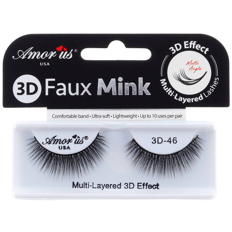 Amor Us 3D Faux Mink Lashes - #46