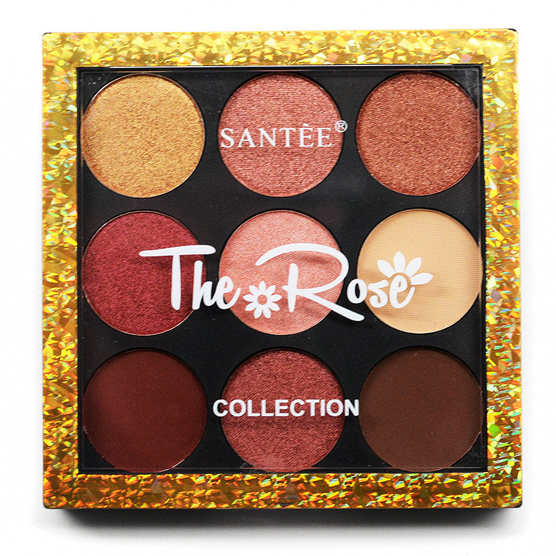 Santee 9-Color The Rose Collection Palette