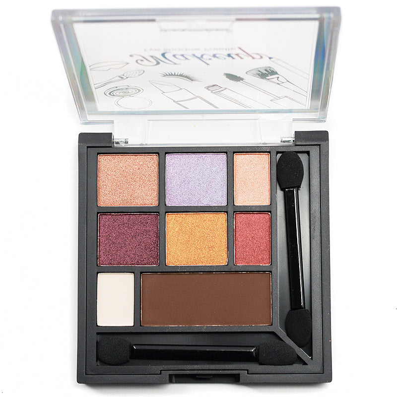 Santee 9-Color Makeup Collection Eyeshadow and Blush Palette