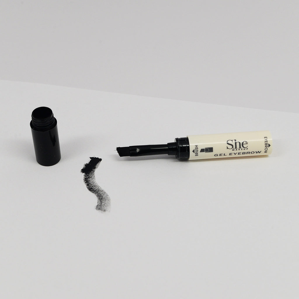 S.he Waterproof Gel Eyebrow - Black