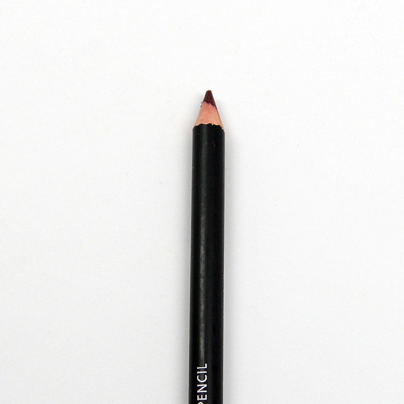 S.he Waterproof Eye and Lip Pencil with Sharpener - Cabernet