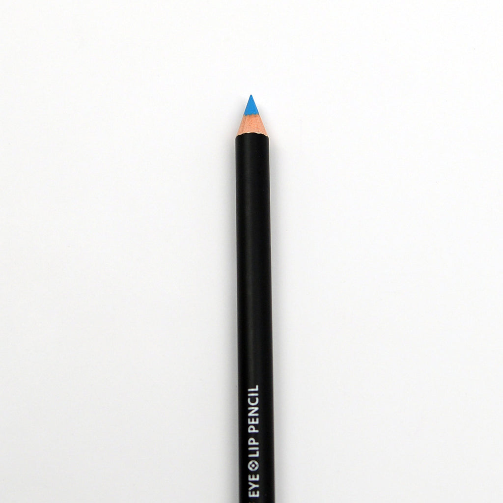 S.he Waterproof Eye and Lip Pencil with Sharpener - Turquoise