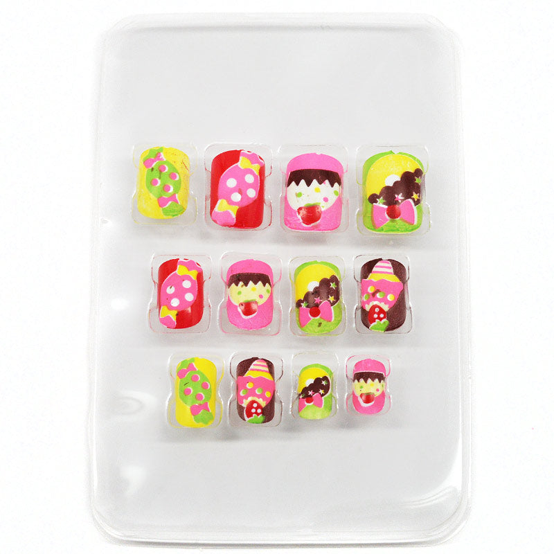 KIDS Stick-On Nails - Sweets Theme