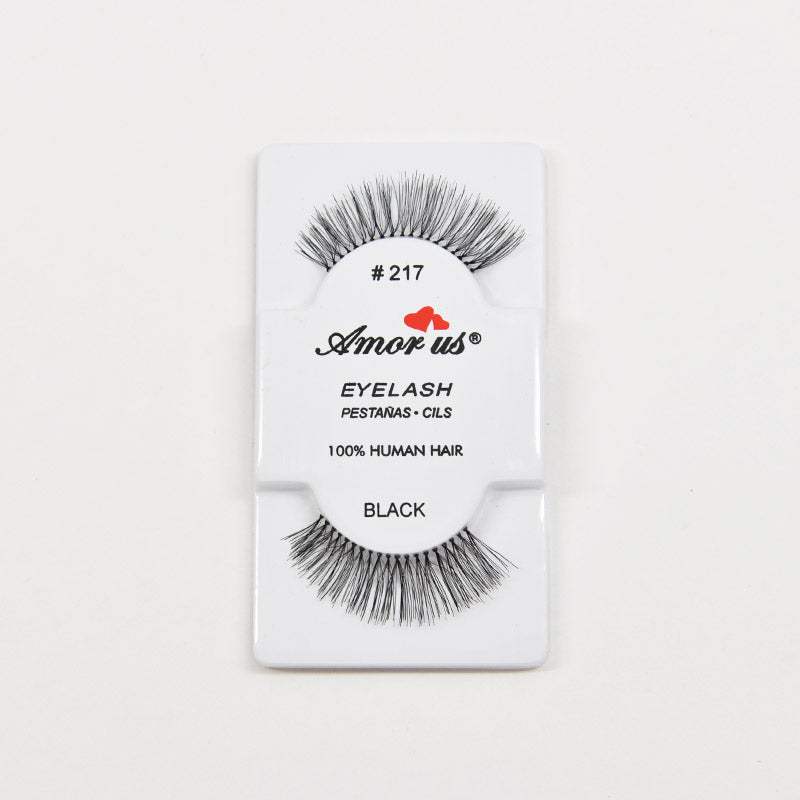 Amor Us Eyelashes - #217 Black