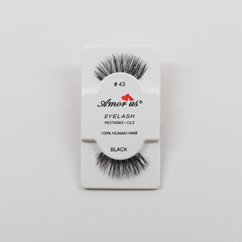 Amor Us Eyelashes - #43 Black