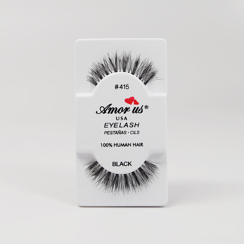 Amor Us Eyelashes - #415 Black