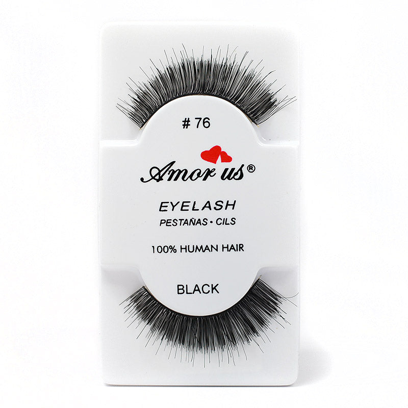 Amor Us Eyelashes - #76 Black