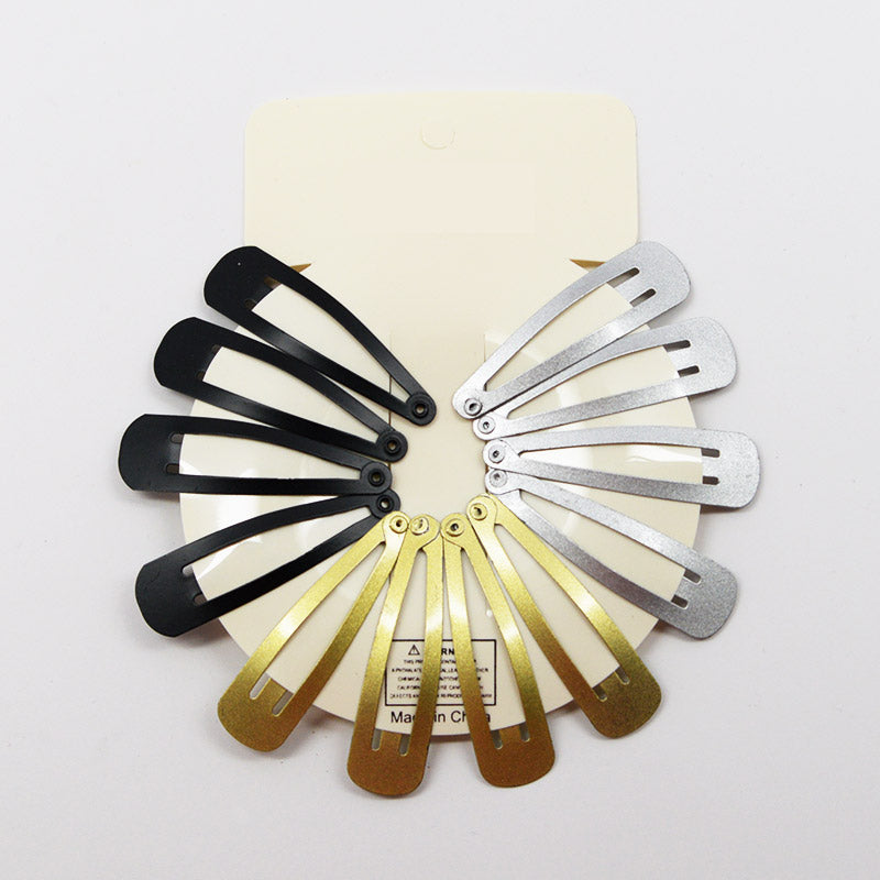 BB Hair Clip Sets (12 Pcs)