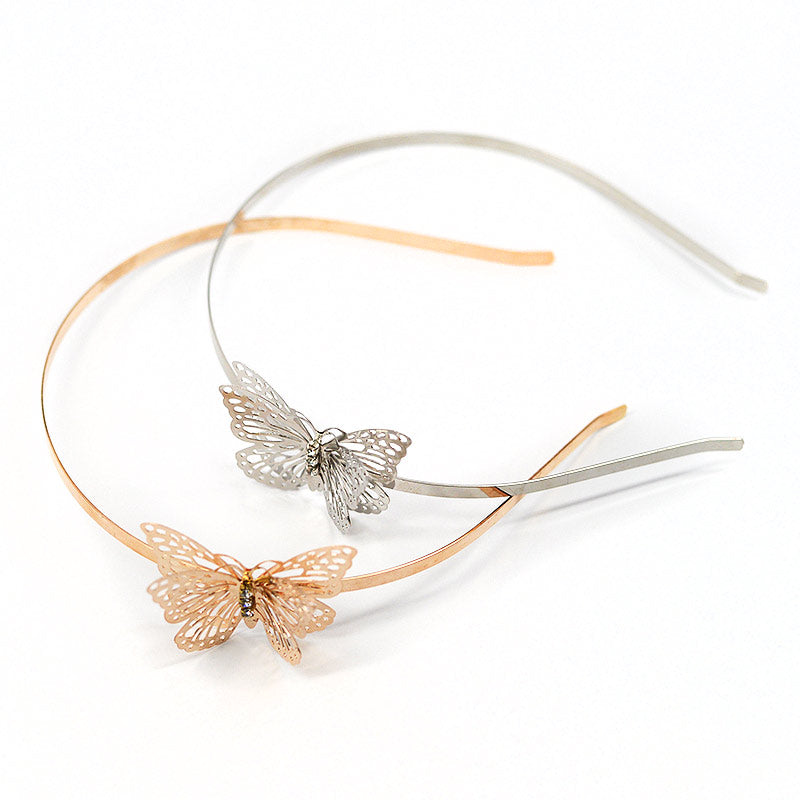 Butterfly Metal Headband