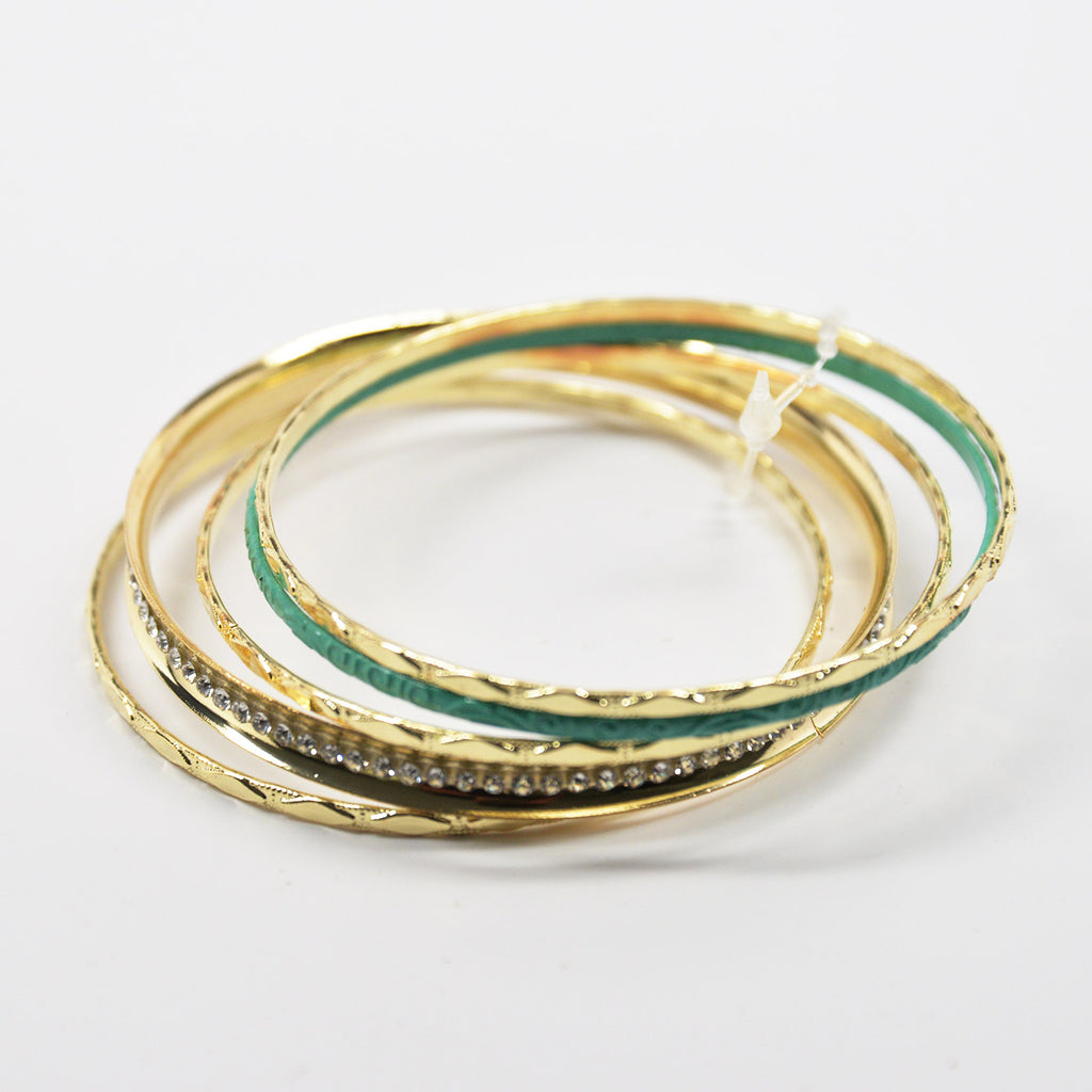 Bangle Bracelets (6 color combinations)