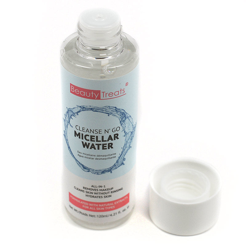 Beauty Treats Cleanse N' Go Micellar Water Makeup Remover