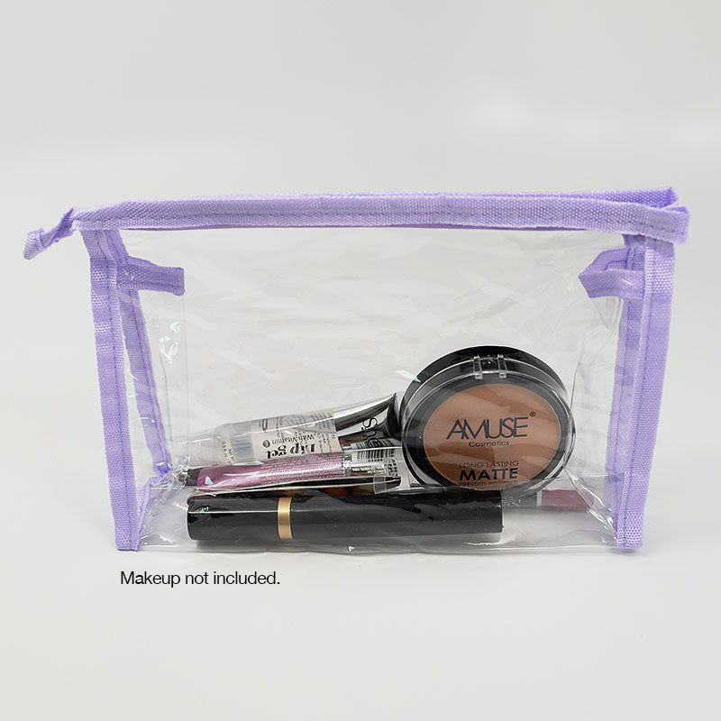 Clear Cosmetic Toiletry Travel Bag