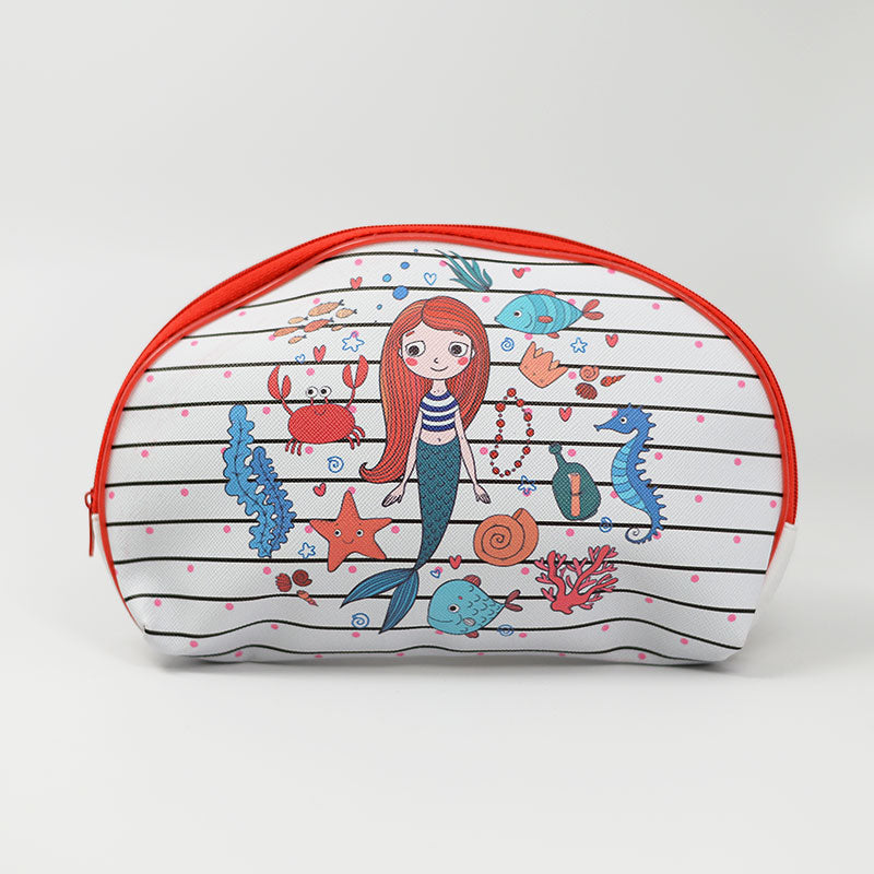Cosmetic Pouch Bag Mermaid Design