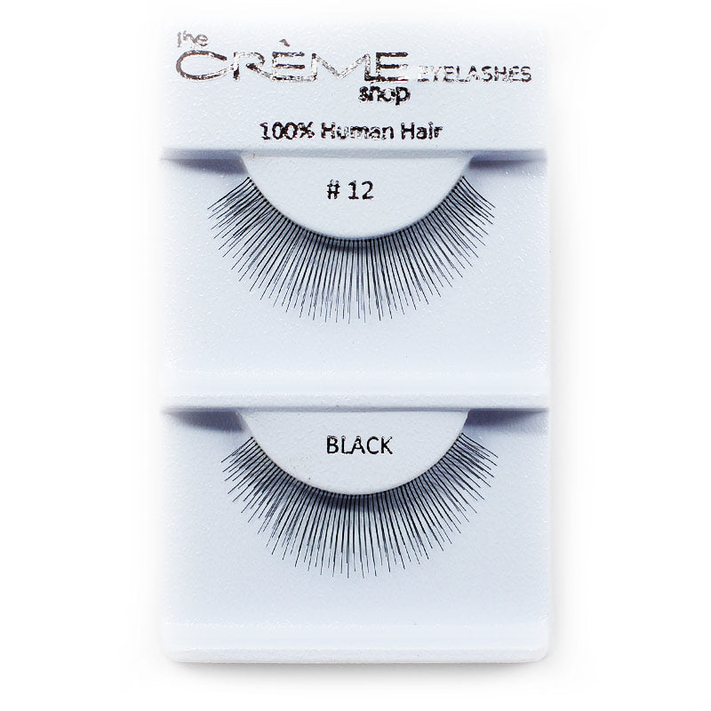 The Creme Shop Eyelashes - #12 Black