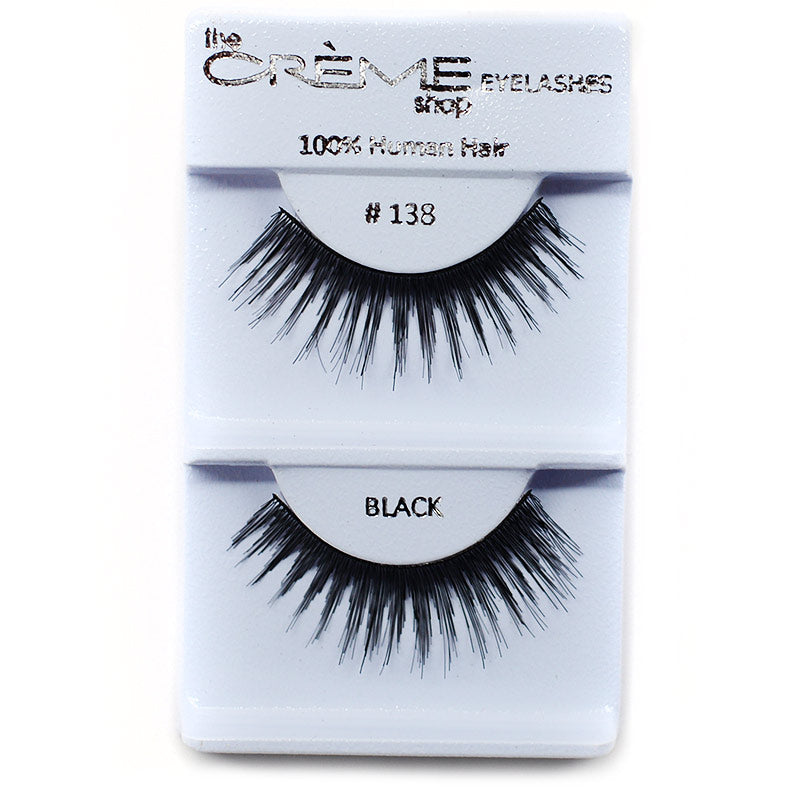 The Creme Shop Eyelashes - #138 Black