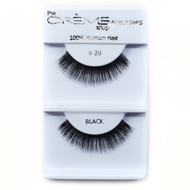 The Creme Shop Eyelashes - #20 Black