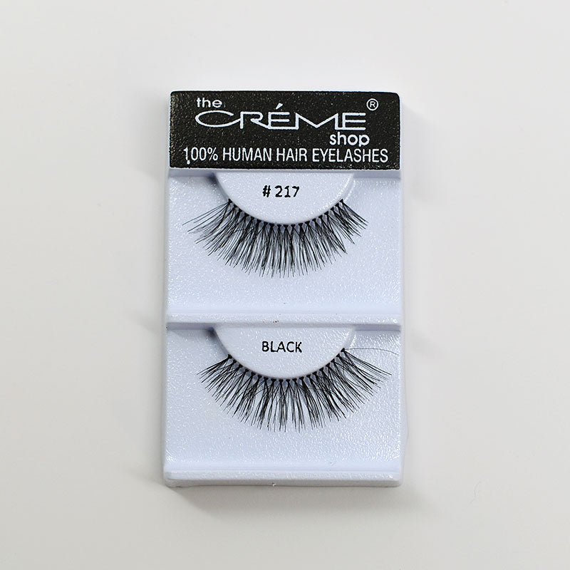 The Creme Shop Eyelashes - #217 Black
